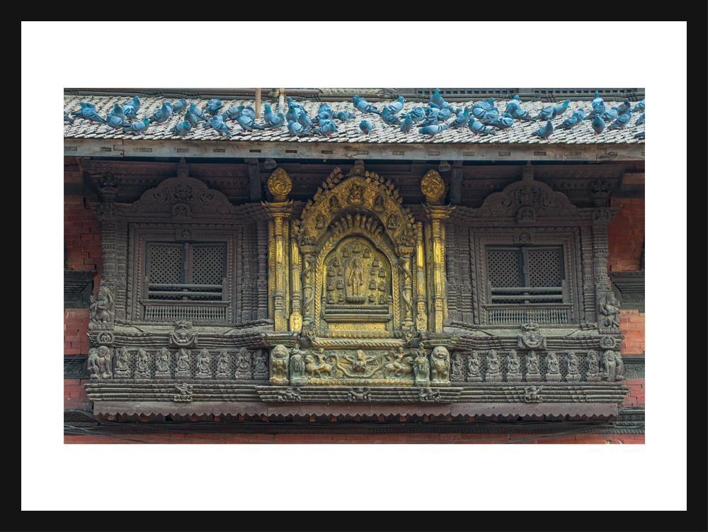 The gold window, Patan