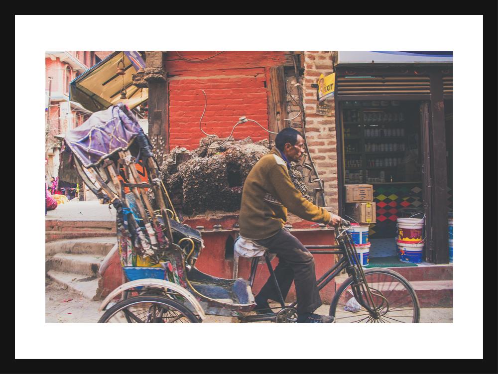 Rickshaw, Ason
