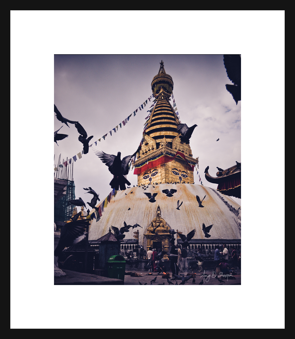 "Swayambhu Nath ""The Monkey Temple"""